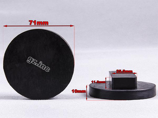 TONGXU Adaptador universal para BMW y Mini Jack Pad de poliuretano cuadrado BMW y Mini Jack Pad